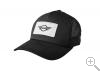 Original MINI Logo Patch Trucker Cap Kappe schwarz MINI Kollektion 2018/2020