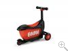 Original BMW Kids Scooter Tretroller für Kinder drei Räder schwarz/orange Kids Kollektion 2016/2020